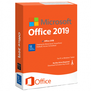 100% Genuine Office 2019 Pro Plus key