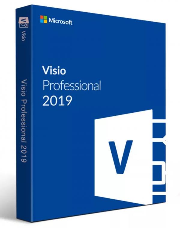 Visio 2019 Pro Digital License Key